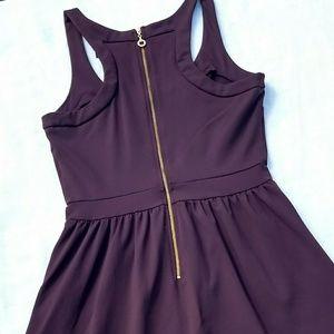 Cynthia Rowley Maroon/Plum A line Dress size M